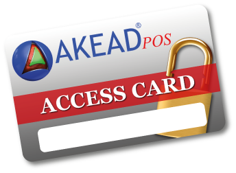 akead pos access card